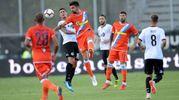 Un momento della partita Spezia-Spal (foto Businesspress)