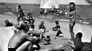 Ferragosto a Pesaro in una foto d'epoca