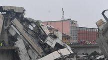 Disastro a Genova (Ansa)