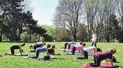 Yoga e Pilates immersi nel verde