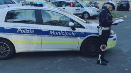 POLIZIA MUNICIPALE È intervenuta sul posto (foto di repertorio)