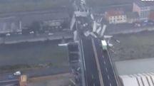 Un estratto immagine del video dei Vigili del Fuoco