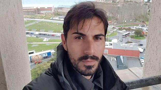 Davide Capello, ex portiere del Cagliari, scampato al crollo del ponte
