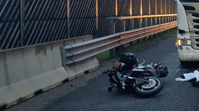 Incidente in A1 all'altezza di Calcara