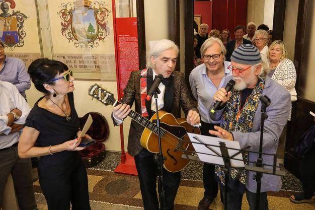 L'evento è stato dedicato alla ricca collezione (foto Andrea Samaritani)