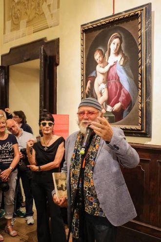 L'evento è stato dedicato soprattutto agli artisti della città (foto Andrea Samaritani)