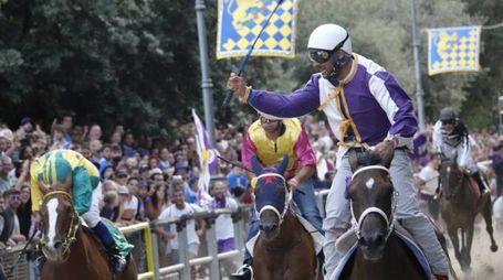 Contrada Fiorenza ha vinto il Palio dell'Assunta (Foto Zeppilli)