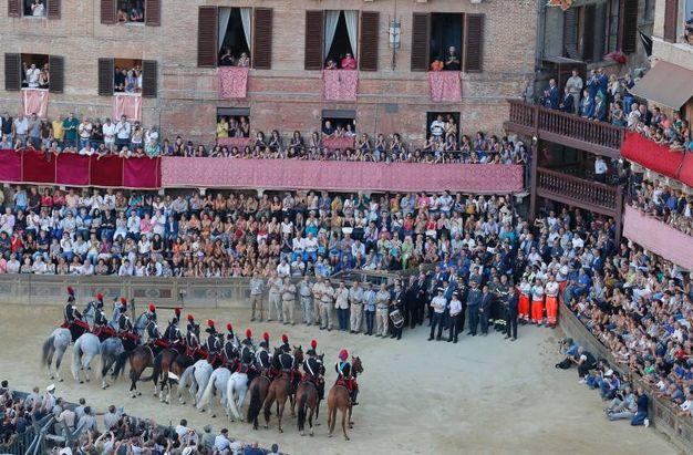 Siena, la prova generale del Palio (foto Paolo Lazzeroni)