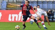Laxalt con la maglia del Genoa