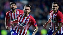 Saul Niguez segna la Real Madrid (Lapresse)