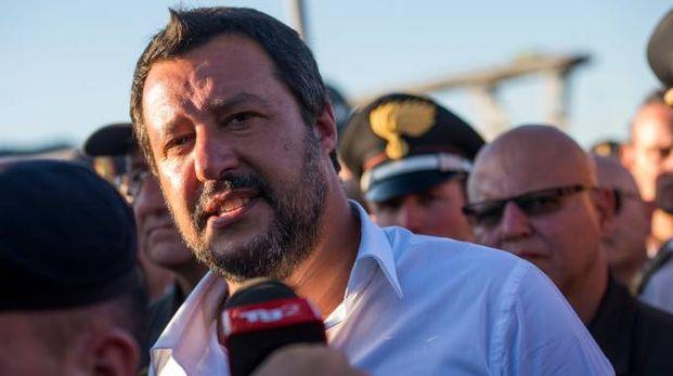 Il Ministro dell'interno, Matteo Salvini (LaPresse)