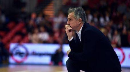 Coach Giorgio Valli, confermato e a caccia quest'anno di un ulteriore passo avanti