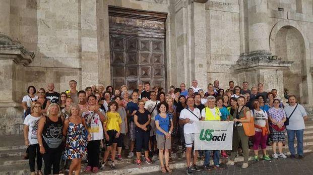 """""""Salute in cammino Ascoli"""" , i partecipanti"""
