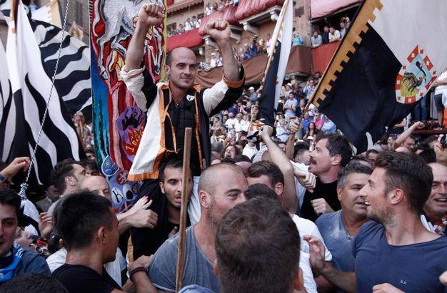 Palio dell'Assunta 2018, il trionfo della Lupa (foto Paolo Lazzeroni)