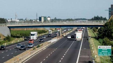 Il ponte del Correcchio sopra l'autostrada