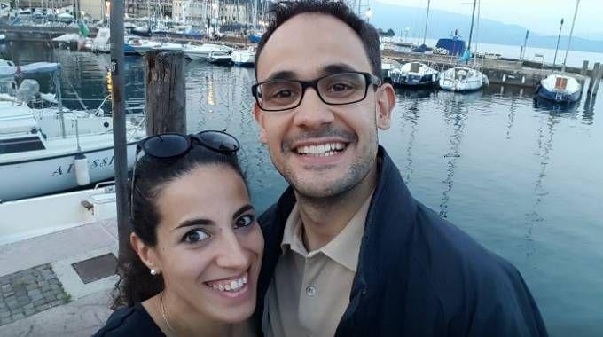 Alberto Fanfani e Marta Danisi