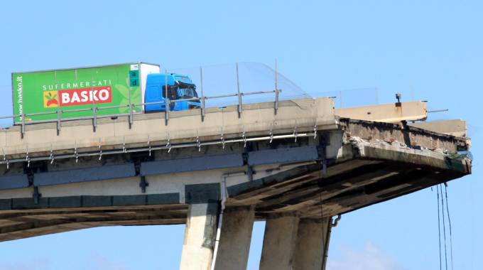 Ponte Morandi Genova (Newpress)
