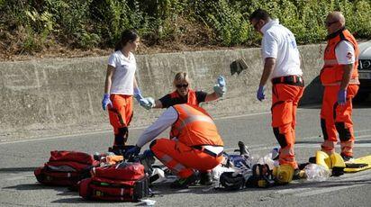I vani soccorsi (Foto Zeppilli)
