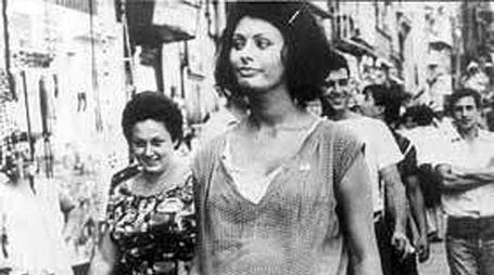 "Sophia Loren in ""Ieri, oggi, domani"""