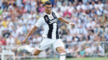 Cristiano Ronaldo, 33 anni (Ansa)