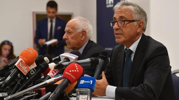 Cerchiai e Castellucci, presidente e ad di Autostrade (Ansa)