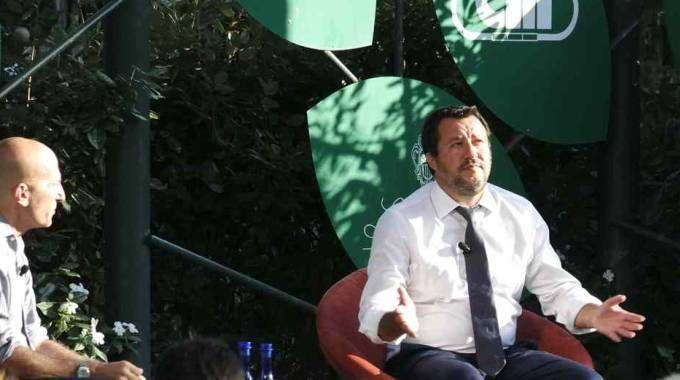 Matteo Salvini alla Versiliana (foto Umicini)