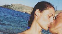 Marica Pellegrinelli ed Eros Ramazzotti (Foto Instagram)