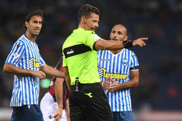 Il derby Bologna-Spal (Lapressse)