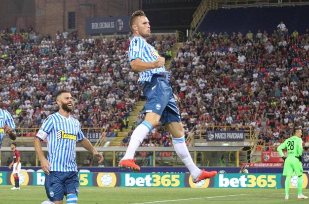 Bologna-Spal 0-1, Kurtic (Ansa)