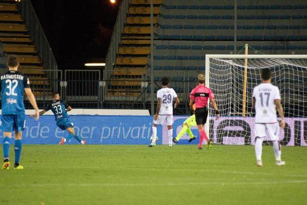 Empoli-Cagliari 1-0, Krunic (Ansa)