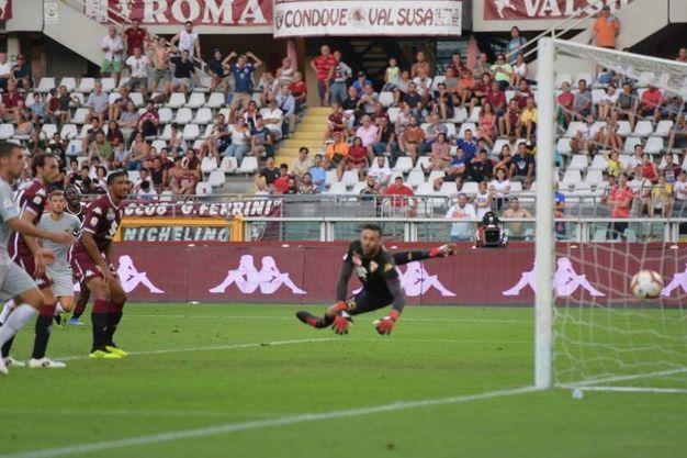 Torino-Roma 0-1, Dzeko (Lapresse)