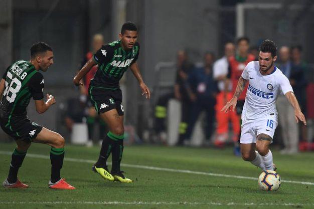 Sassuolo-Inter (LaPresse)