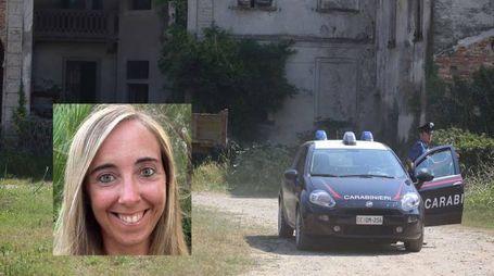 Manuela Bailo e il luogo del ritrovamento del copro