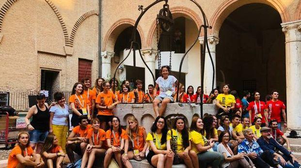 Lo staff del Ferrara Buskers Festival
