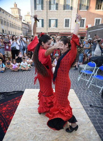 Flamenco dalla Spagna (foto Businesspress)