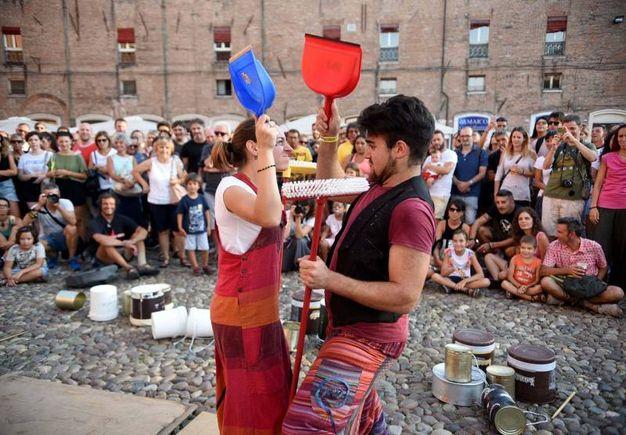 Il palcoscenico open air di Ferrara (foto Businesspress)