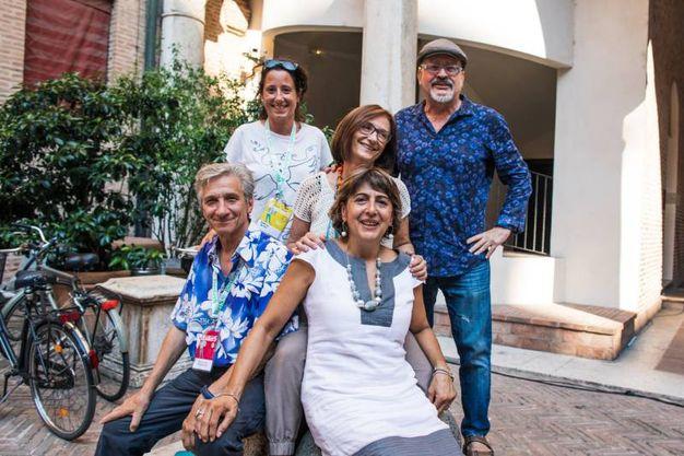 Gli organizzatori (foto Marco Tamburrini)