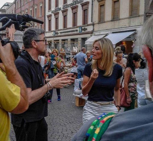 La trasmissione è condotta da Francesca Fialdini e Angela Rafanelli (foto Pasquale Bove)