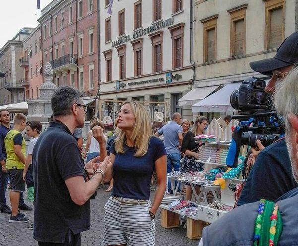 Lo scrittore Marco Missiroli è tra i protagonisti della trasmissione (foto Pasquale Bove)