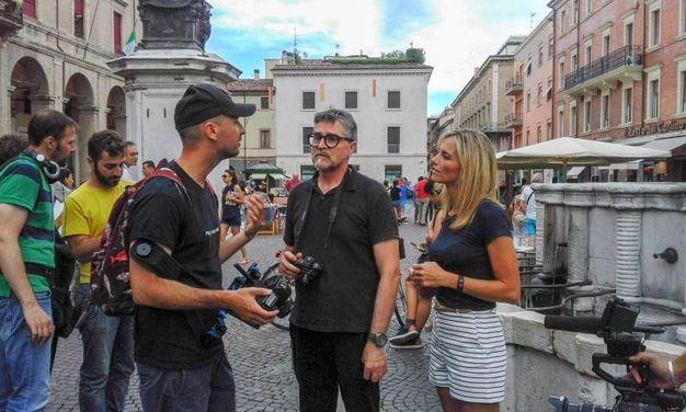 La trasmissione è andata in onda domenica 19 (foto Pasquale Bove)