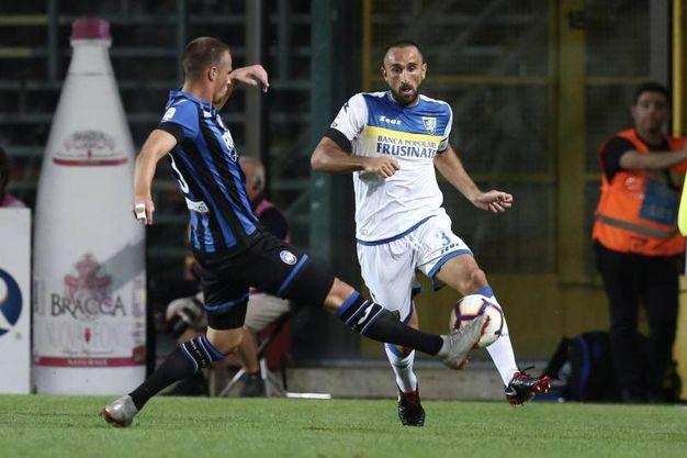 Debutto vincente in campionato dell'Atalanta contro il Frosinone: 4 a 0 con doppietta e doppio assist di Gomez