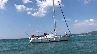 La barca spiaggiata