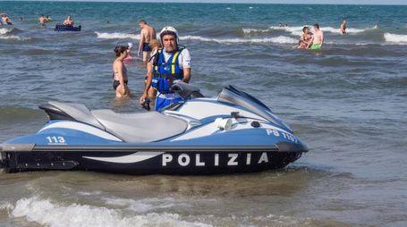La polizia nautica
