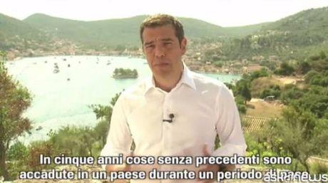 Tsipras a Itaca