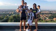 Cristiano Ronaldo con la Famiglia bianconera su Instagram