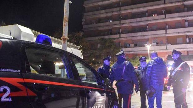 I carabinieri sono intervenuti all'Hotel House