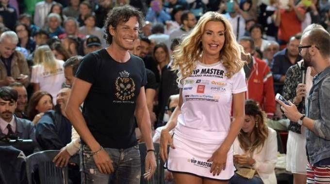 Patrick Baldassarri e Valeria Marini