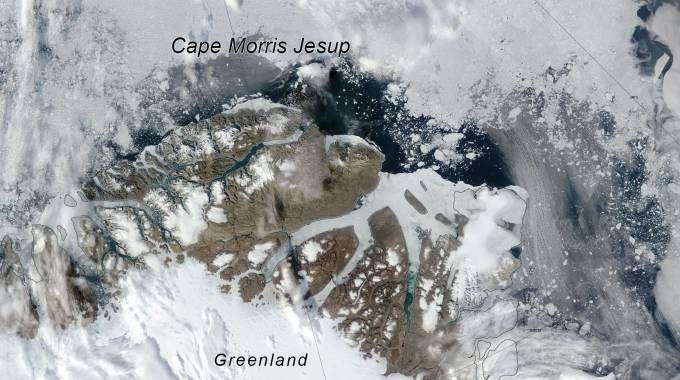 Si sciolgono i ghiacci marini della Groenlandia
