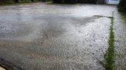 In una ventina di minuti sono caduti 20 mm di pioggia mista a grandine (Scardovi)