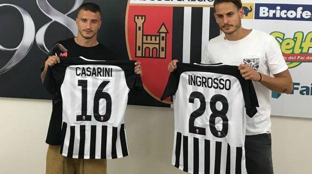 I bianconeri Casarini e Ingrosso